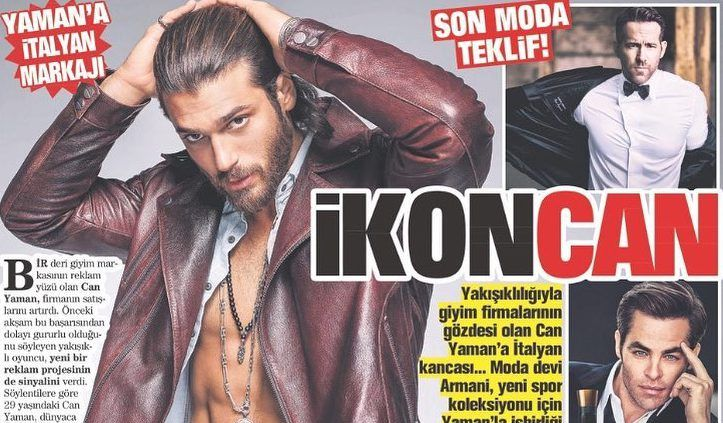 Can Can Yaman become the face of the Italian brand Armani