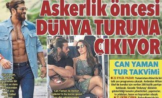 Can Yaman goes on an international tour