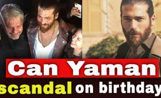 Controversy on Can Yaman's birthday