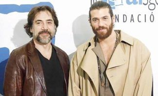 Javier Bardem and Can Yaman