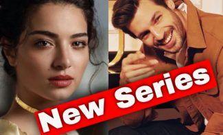 Melisa Asli Pamuk and Serkan Çayoğlu in the series New Life / Yeni Hayat