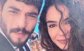 Ebru Şahin and Akın Akınözü