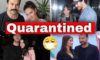 Turkish stars quarantined